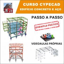 CURSO - CYPECAD 2017/2018 - EDIFÍCIO DE CONCRETO E AÇO
