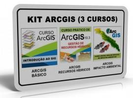 KIT ARCGIS (3 CURSOS)