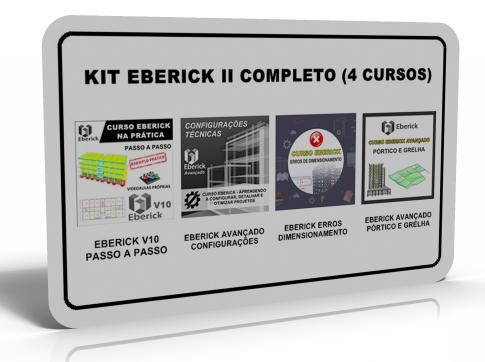 412dea098 KIT EBERICK II - COMPLETO (4 CURSOS)
