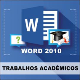 CURSO WORD - FORMATAÇÃO DE TRABALHOS ACADÊMICOS