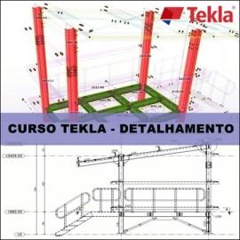 CURSO - DETALHAMENTO DE ESTRUTURAS METÁLICAS COM TEKLA STRUCTURES