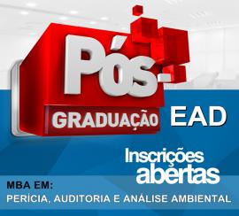 MBA EM PERÍCIA, AUDITORIA E ANÁLISE AMBIENTAL (EAD)