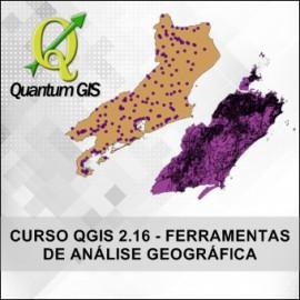 CURSO QUANTUM GIS 2.16 - FERRAMENTAS DE ANÁLISE GEOGRÁFICA