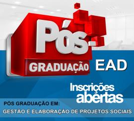 GESTÃO E ELABORAÇÃO DE PROJETOS SOCIAIS (EAD)