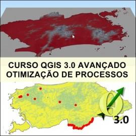 CURSO - QGIS 3.0 AVANÇADO: OTIMIZAÇÃO DE PROCESSOS CARTOGRÁFICOS