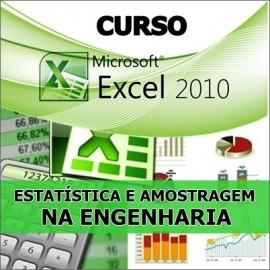 CURSO EXCEL - ESTATÍSTICA E AMOSTRAGEM