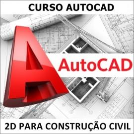 CURSO AUTOCAD 2D 2010 PARA CONSTRUÇÃO CIVIL