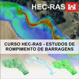 CURSO HEC RAS - ESTUDOS DE ROMPIMENTO DE BARRAGENS