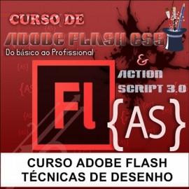 CURSO ADOBE FLASH  - TÉCNICAS DE DESENHO