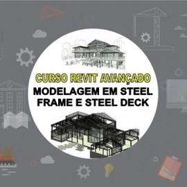CURSO REVIT AVANÇADO - MODELAGEM STEEL FRAME E STEEL DECK