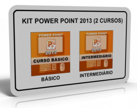 KIT POWER POINT 2013 (2 CURSOS)