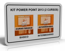 KIT POWER POINT 2013 (2 CURSOS)