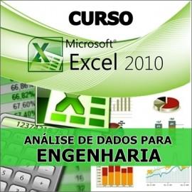 CURSO EXCEL - ANÁLISE DE DADOS PARA ENGENHARIA