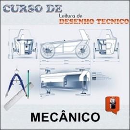 CURSO DE LEITURA E CRIAÇÃO DE DESENHO TÉCNICO MECANICO