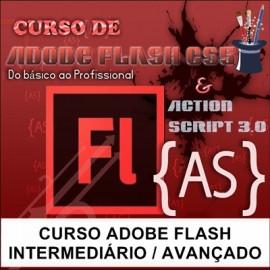 CURSO ADOBE FLASH  - INTERMEDIÁRIO / AVANÇADO