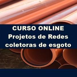CURSO PROJETO DE REDE COLETORA DE ESGOTO