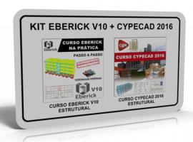 KIT EBERICK V10: ESTRUTURAL + CYPECAD 2016: ESTRUTURAL