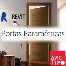 CURSO REVIT ARCHITECTURE - PORTAS PARAMÉTRICAS