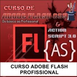 CURSO ADOBE FLASH  - PROFISSIONAL