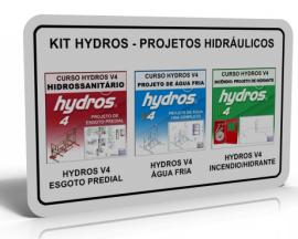 KIT HYDROS - PROJETOS HIDRÁULICOS  (3 CURSOS)