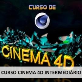 CINEMA 4D - MODELAGEM, EFEITOS VISUAIS E ANIMAÇÕES - INTERMEDIÁRIO