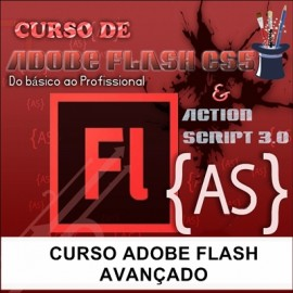 CURSO ADOBE FLASH  - AVANÇADO