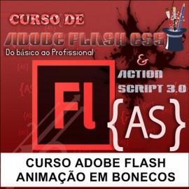 CURSO ADOBE FLASH  - ANIMAÇÃO DE BONECOS