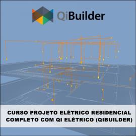 CURSO - QIBUILDER 2018/2019: PROJETO ELÉTRICO RESIDENCIAL COMPLETO