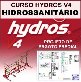 CURSO HYDROS HIDROSSANITÁRIO - DIMENSIONAMENTO DE ESGOTO PREDIAL PASSO A PASSO