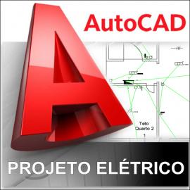 CURSO AUTOCAD 2013/2015 - PROJETO ELÉTRICO RESIDENCIAL