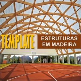TEMPLATE PARA REVIT - ESTRUTURAS EM MADEIRA