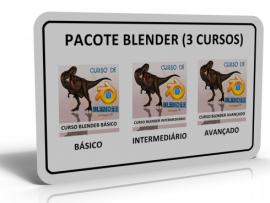 PACOTE BLENDER (3 CURSOS)
