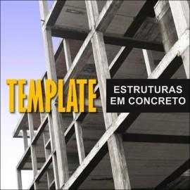 TEMPLATE PARA REVIT - ESTRUTURAS EM CONCRETO