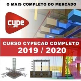 CURSO - CYPECAD 2018/2019 - CÁLCULO ESTRUTURAL (TEORIA E PRÁTICA COMPLETO)