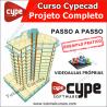 CURSO CYPECAD PASSO A PASSO - EXEMPLO PRÁTICO