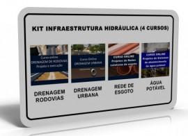 KIT INFRAESTRUTURA HIDRÁULICA (4 CURSOS)