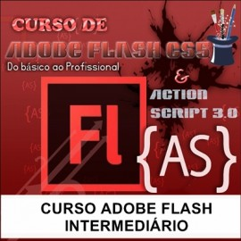 CURSO ADOBE FLASH - INTERMEDIÁRIO