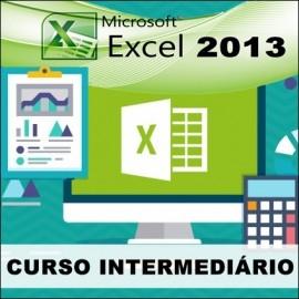 CURSO EXCEL 2013 - INTERMEDIÁRIO
