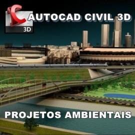Curso Autocad Civil 3D - Projetos Ambientais