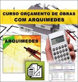 CURSO ARQUIMEDES- ORÇAMENTO DE OBRAS PASSO A PASSO