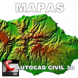 Curso Autocad Civil 3D - Ferramentas para Mapas