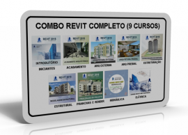 SUPER COMBO REVIT COMPLETO (9 CURSOS)
