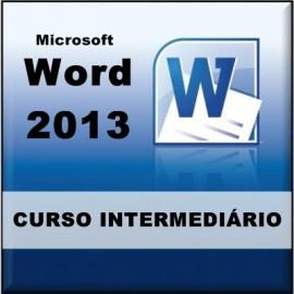 CURSO WORD 2013 - INTERMEDIÁRIO