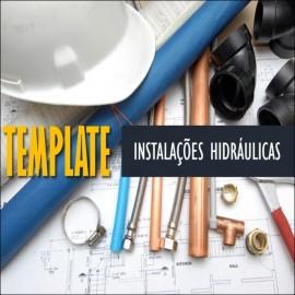 TEMPLATE PARA REVIT - INSTALAÇÕES HIDRÁULICAS