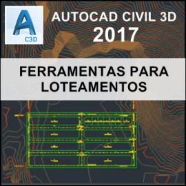 CURSO - AUTOCAD CIVIL 3D 2017 - FERRAMENTAS PARA LOTEAMENTOS