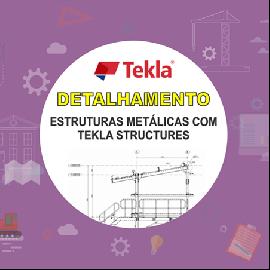 CURSO - DETALHAMENTO DE ESTRUTURAS METÁLICAS COM TEKLA STRUCTURES 2017i