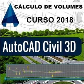 CURSO - AUTOCAD CIVIL 3D 2018 - CÁLCULO DE VOLUMES