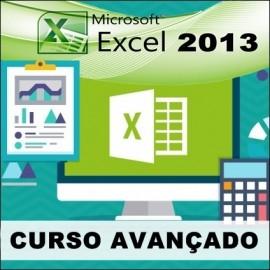 CURSO EXCEL 2013 - AVANÇADO