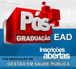 GESTÃO EM SAÚDE PÚBLICA (EAD)