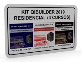 KIT QIBUILDER 2019 - HIDRÁULICA RESIDENCIAL (3 CURSOS)